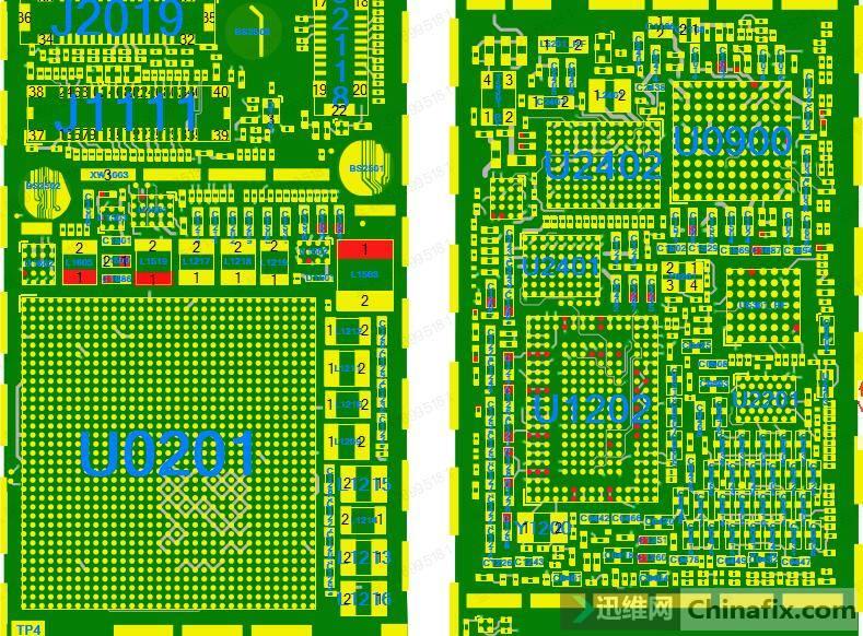 主供电到达的元件很多,加电和烧机没有特别烫的元件,主板只会微温。