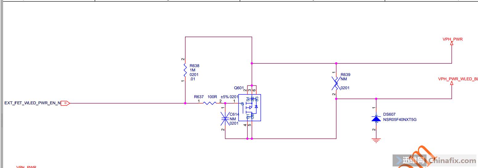 Q601原理图