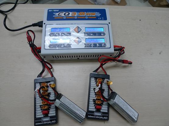 迅维无人机培训-穿越机专用大功率平衡充电器