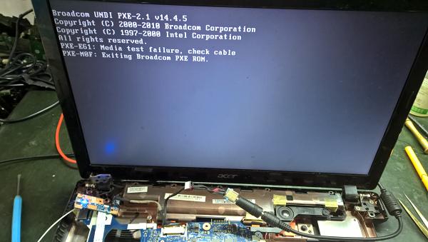 二修宏碁5750 LA-6901P REV2.0笔记本不触发故障 图6