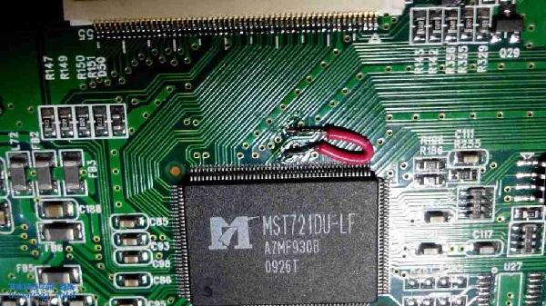 长虹液晶电视机有声音没图像维修4