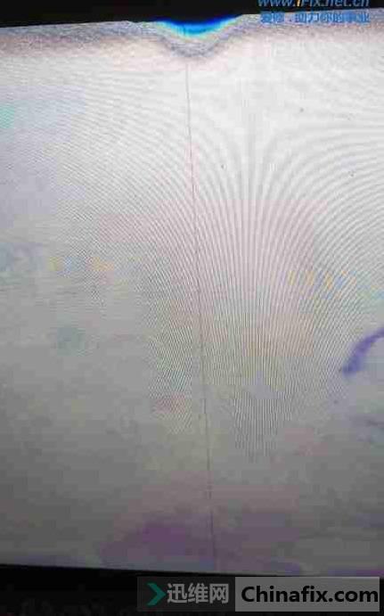 二修海信42电视机有声音没图像 电击法维修 图1