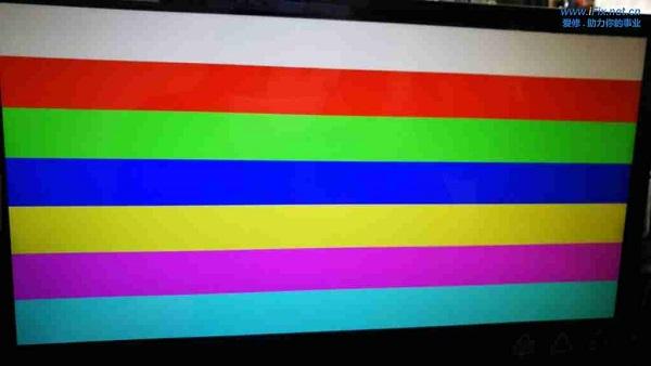 联想LS2233WA液晶显示器白屏维修 图2