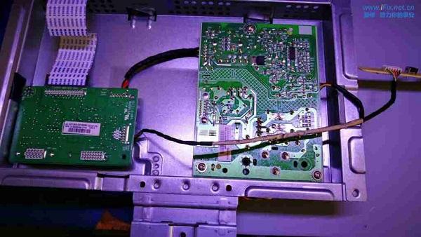 联想LS2233WA液晶显示器白屏维修 图3