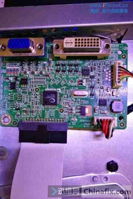 联想LS2233WA液晶显示器白屏维修 图4
