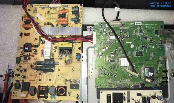 联想39a11Y智能安卓电视破屏机移植创维32寸普通电视 图4