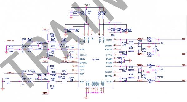 海信TLM4236P液晶电视有图像没声音故障维修3