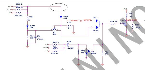 海信TLM4236P液晶电视有图像没声音故障维修4