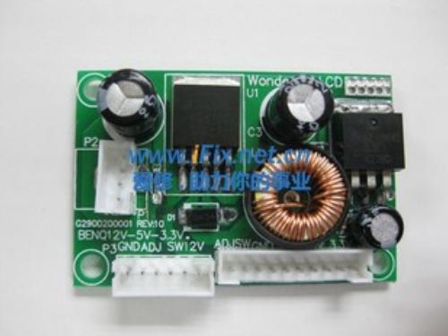 海尔HT-20668RS液晶显示器黑屏维修 图1