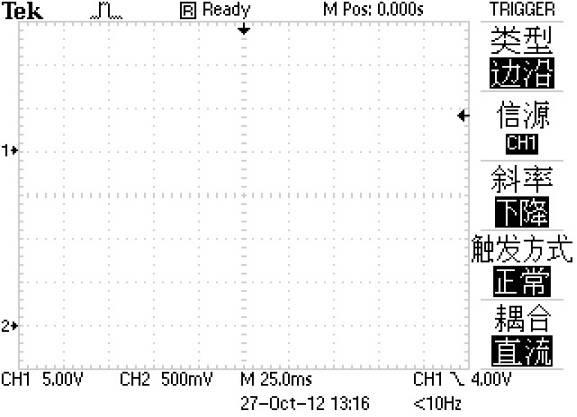 示波器控件作用与屏幕信息 图4