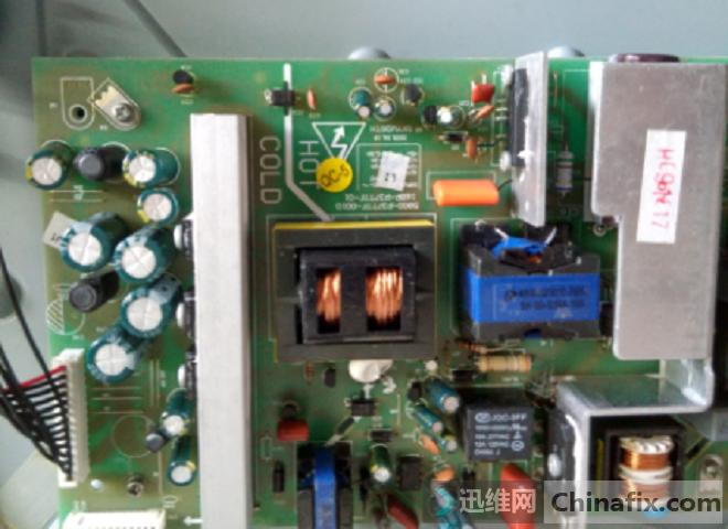 创维37M11HM液晶电视不开机维修 图3