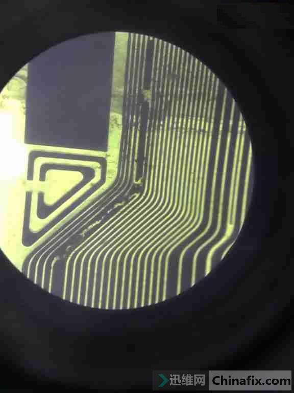 创维58E6000液晶显示器不定时不定时图像发白、负像故障维修 图5