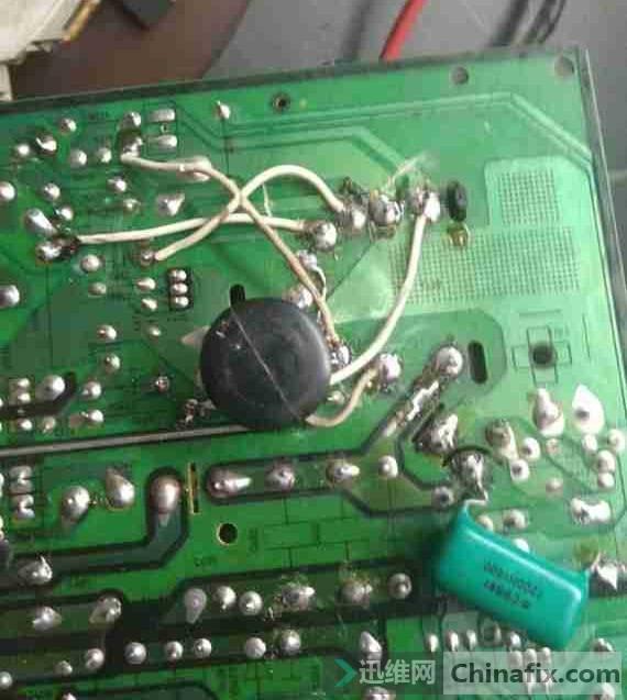 康佳P29SK067液晶电视黑屏故障维修一例 4