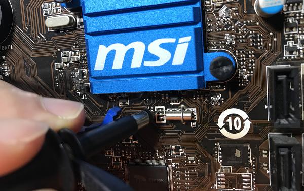 微星主板MS-7758 VER 3.1不认内存反复重启维修 图3