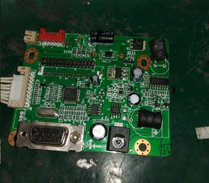 现代E派GB228W液晶显示器不亮故障维修1