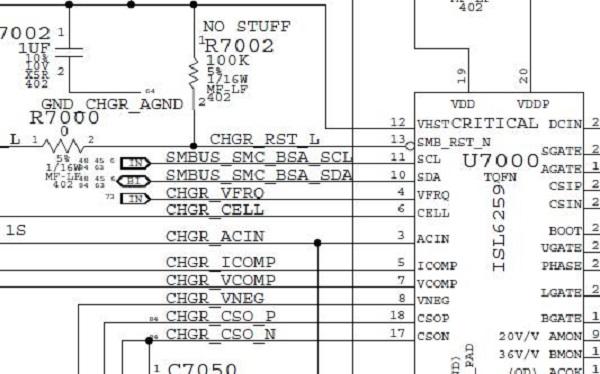 苹果A1278笔记本电池不充电 电源指示灯不亮故障维修