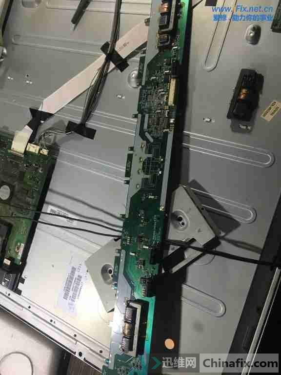 索尼kdl-46cx520液晶电视不开机故障维修2