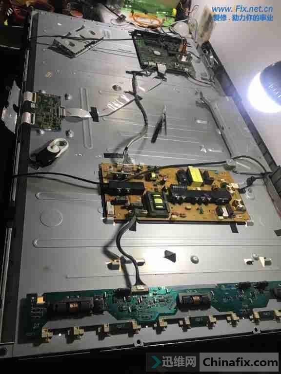索尼kdl-46cx520液晶电视不开机故障维修4