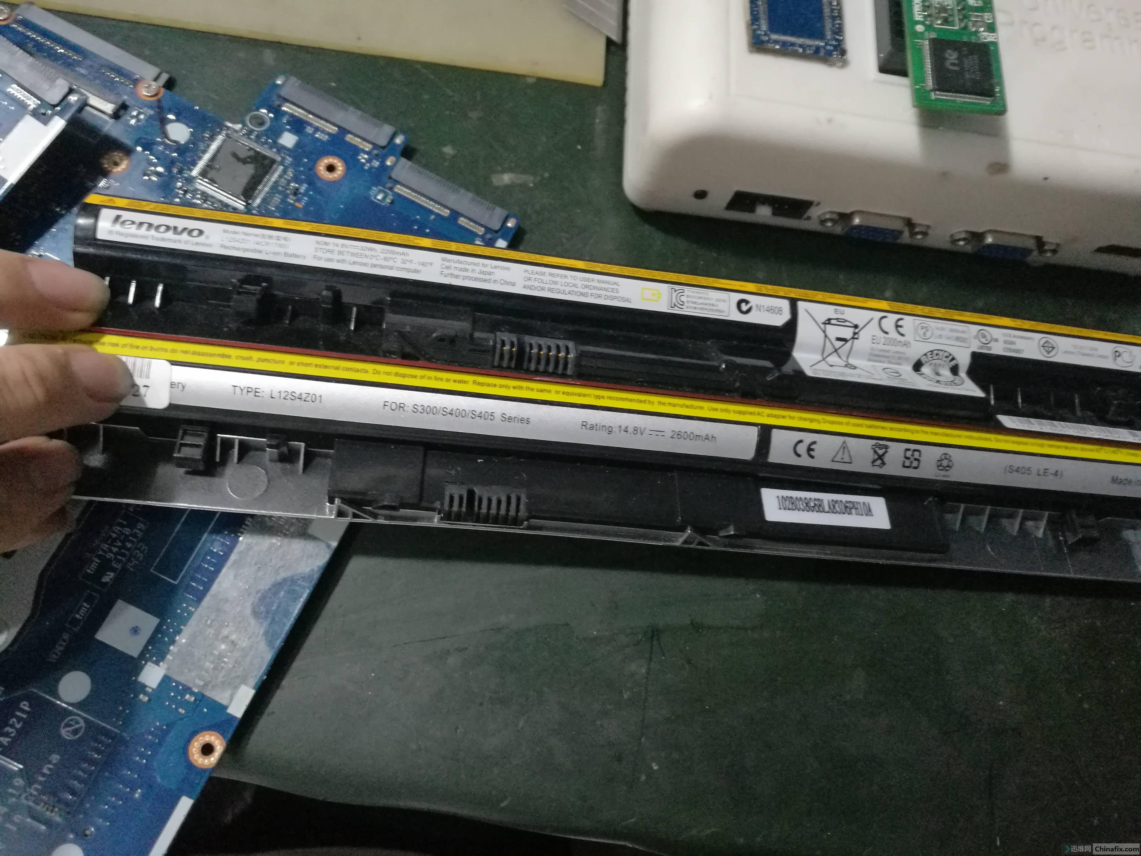原机电池和代用电池.jpg