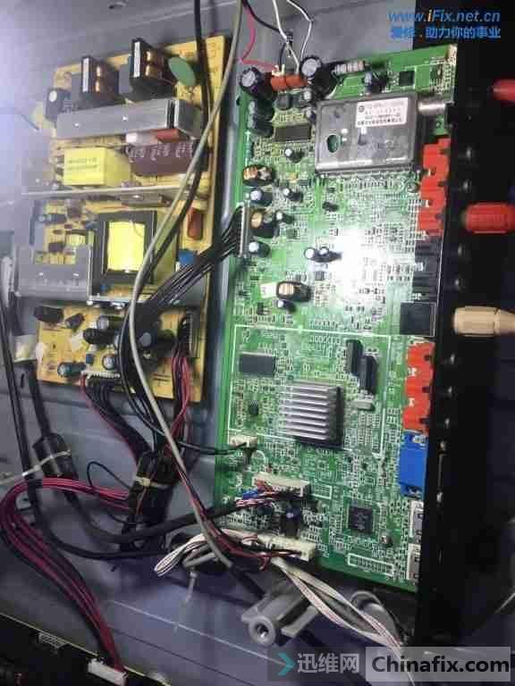 创维32L01HM液晶电视伴音不正常奇特故障维修3