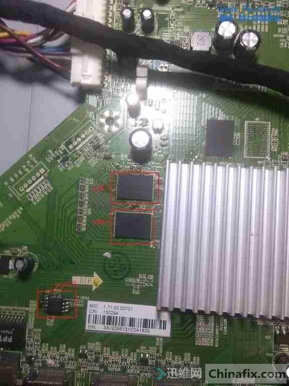 乐视S50液晶电视黑屏不开机故障维修2