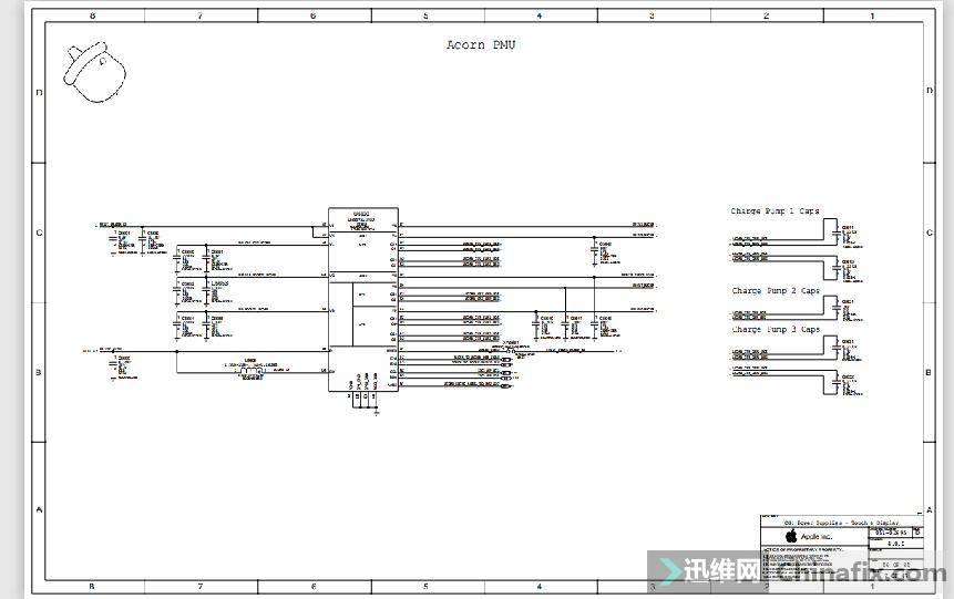 iphone XS 原理图