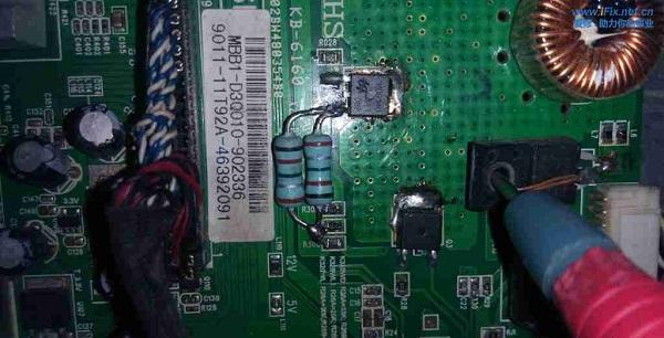 飞利浦32PFL1335/T3液晶电视三无故障维修 图5