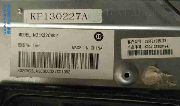 飞利浦32PFL1335/T3液晶电视三无故障维修 图2