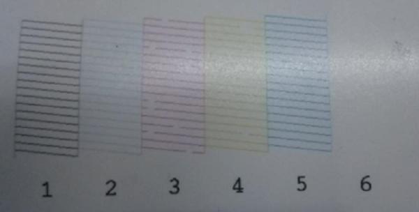爱普生干式打印机色彩异常维修 图1