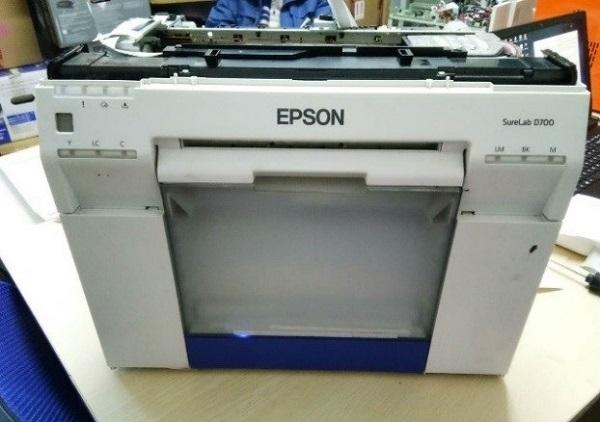 爱普生干式打印机色彩异常维修 图2