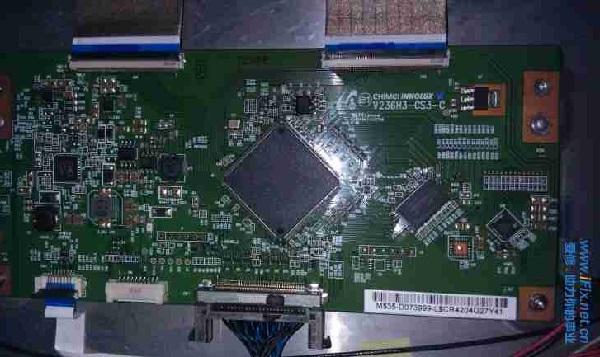 海尔LE39A700液晶电视白屏故障维修 图2