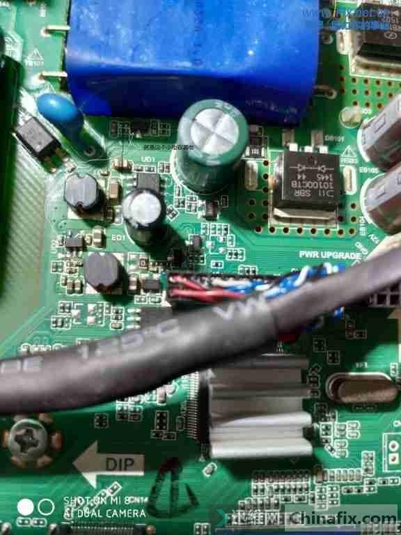 先锋LED-40B960液晶电视机指示灯不亮故障维修案例3