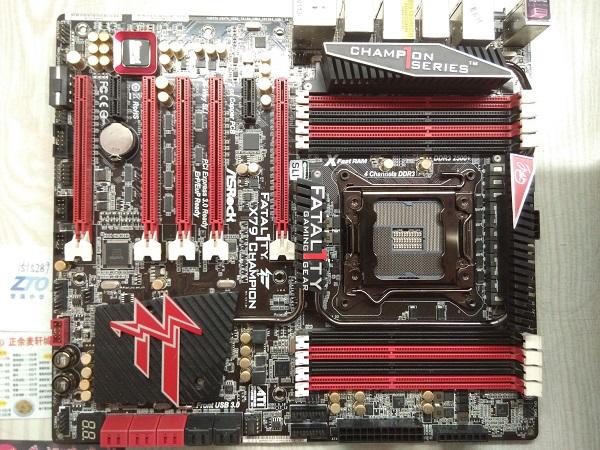 华擎X79全板无复位故障维修 图1