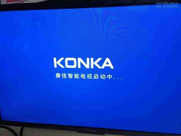 康佳LED32R5200PDE液晶电视开机有声音故障维修5