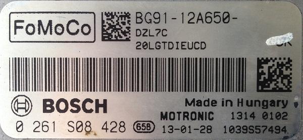 2013年产福特蒙迪欧发动机起动几秒钟后自动熄火故障维修2