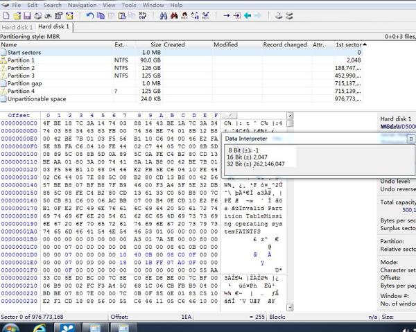 西部WDC WD5000AAKX硬盘数据恢复案例17