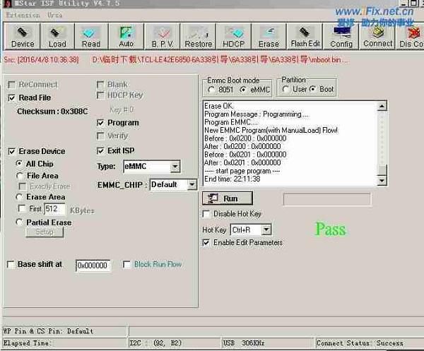 飞利浦32PHF5082电视不开机换CPU维修案例