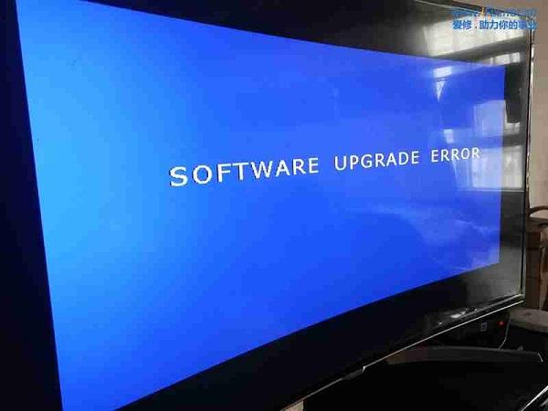 康佳QLED55X80U曲面液晶电视系统损坏升级故障维修案例康佳QLED55X80U曲面液晶电视系统损坏升级故障维修案例 ...