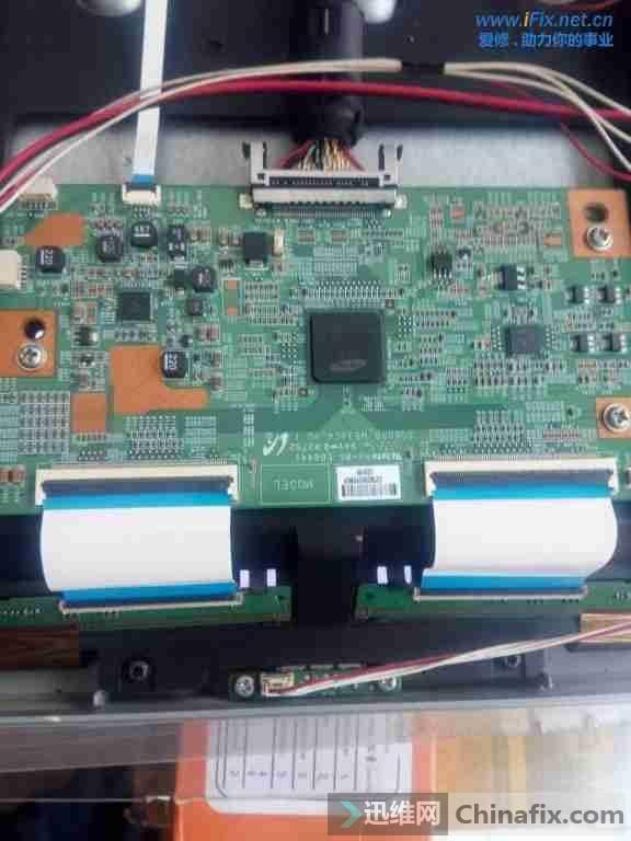 TCL L48F3390A液晶电视图像重影故障维修案例5