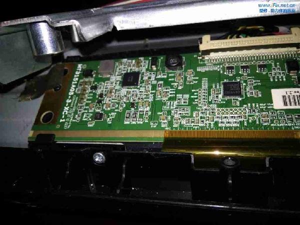 海信LED32KJD20液晶电视不开机故障3