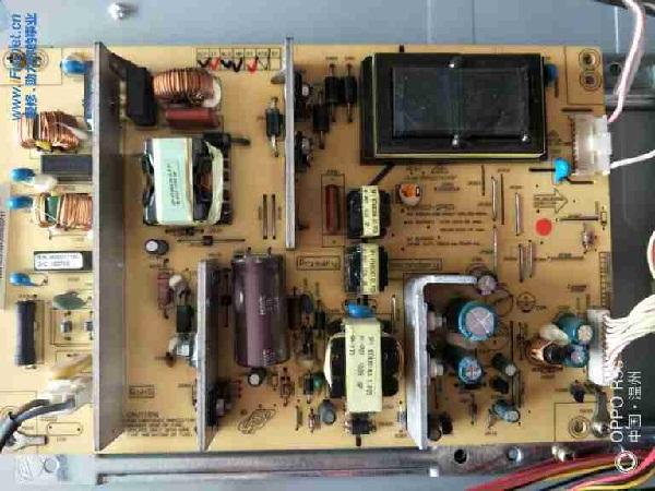 长虹LT26610液晶电视有时开机黑屏有声音故障维修一例5