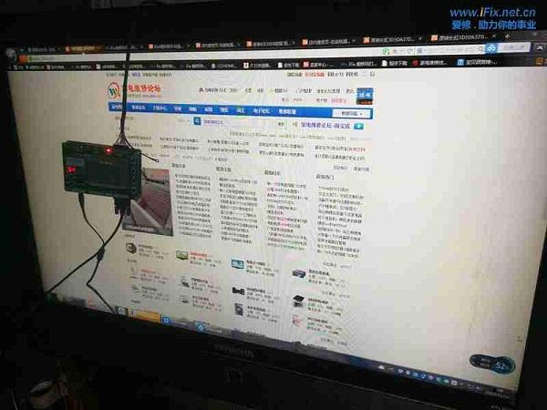 创维47L20HF液晶电视灰屏故障维修案例2