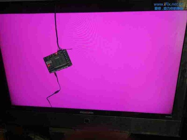 创维47L20HF液晶电视灰屏故障维修案例1