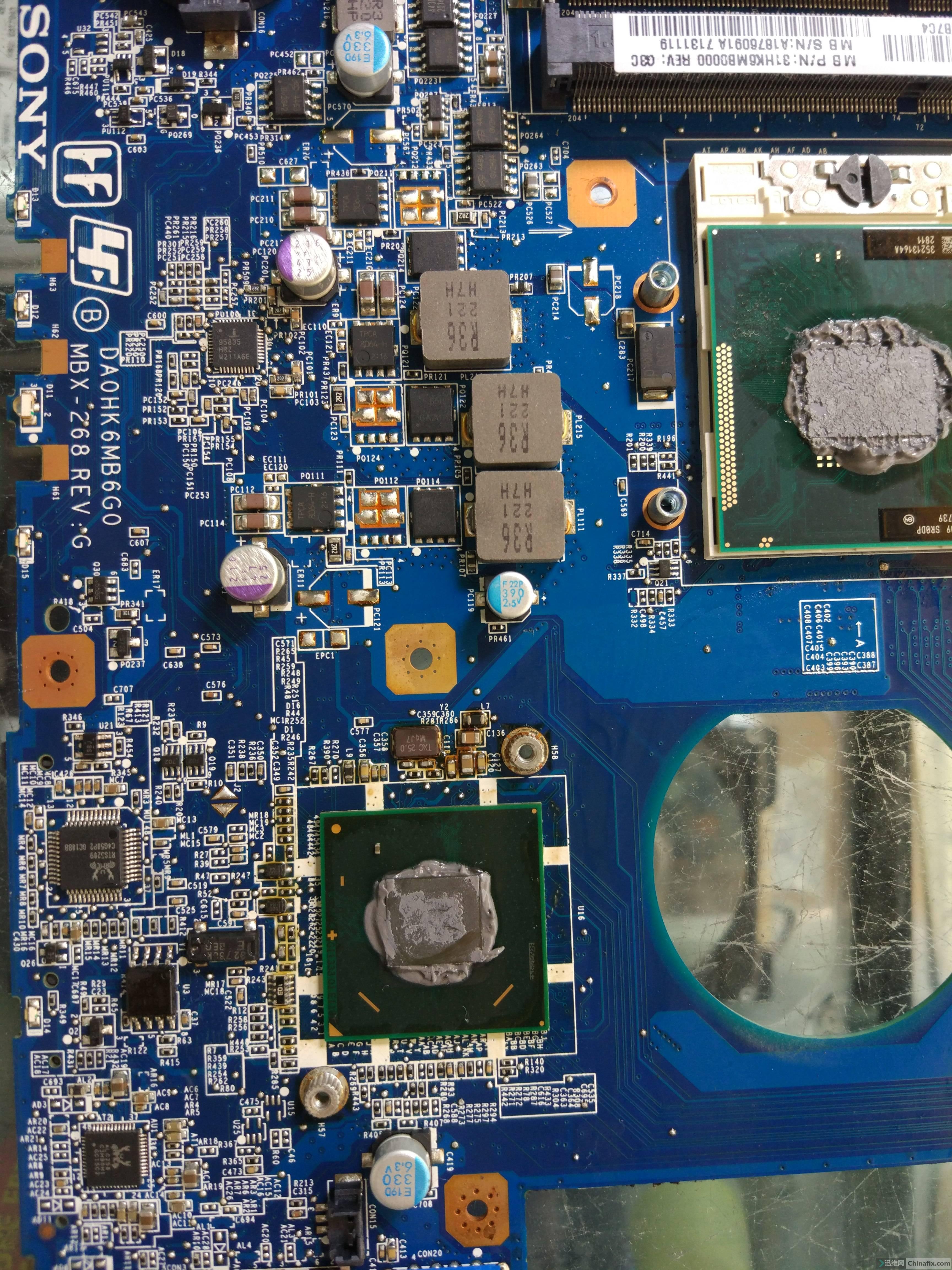 SONY SVE141D11T DA0HK6MB6G0  MBX-268 REV:G 集成显卡 1.jpg
