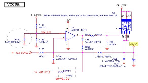 这个图是这个主板的VCCSA部分