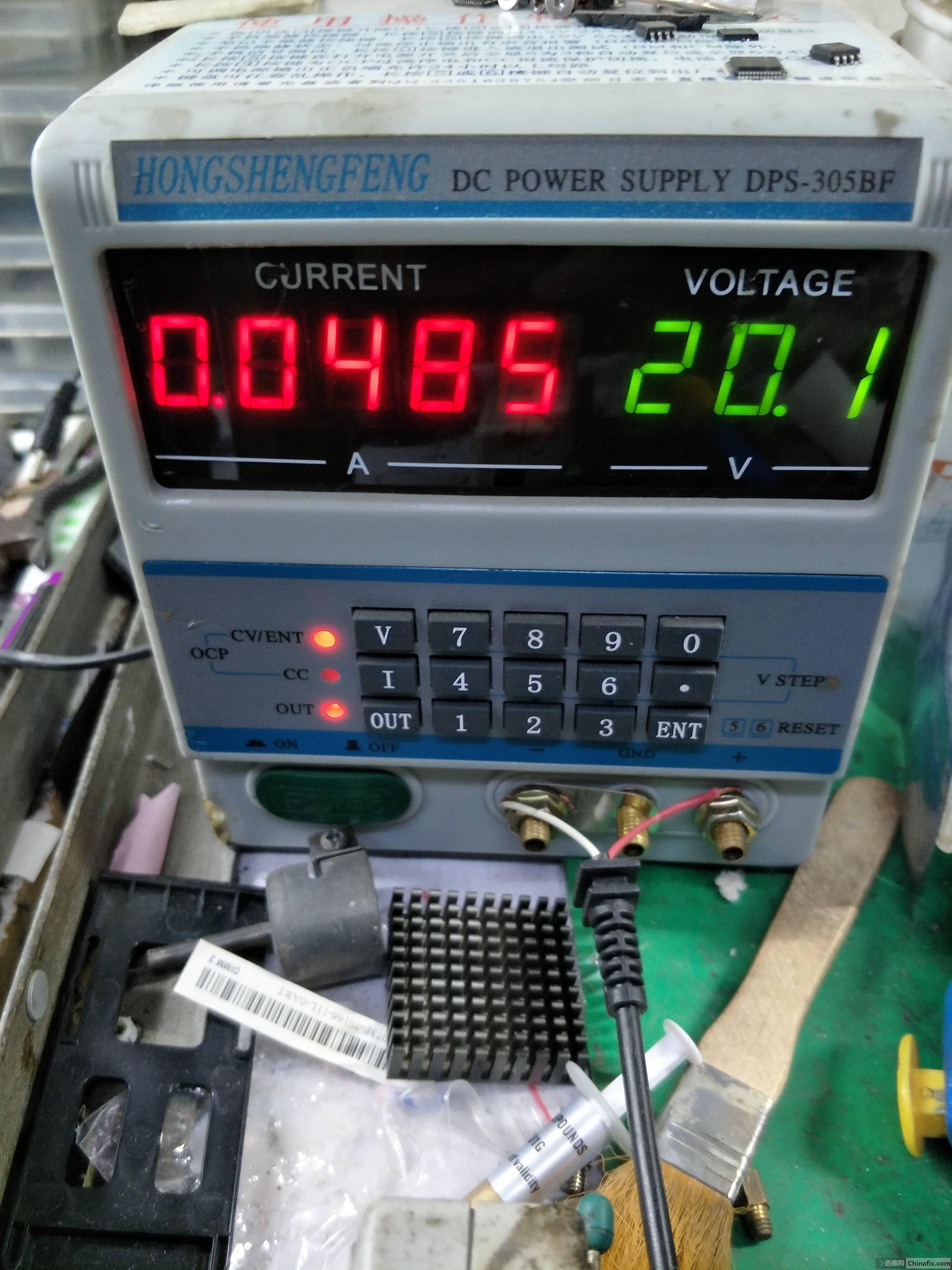 有待机电压,开机电压3.3V