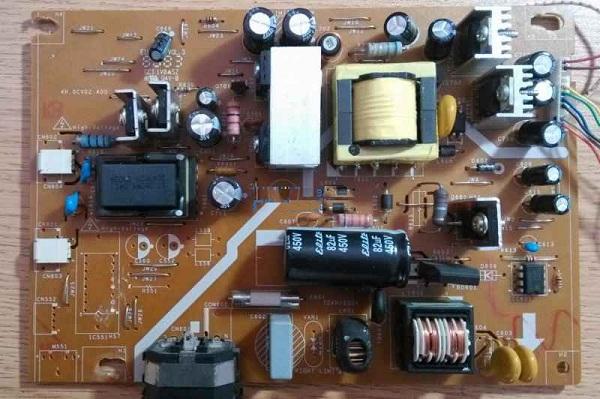 明基G900HD液晶显示器不开机,加电无反应故障维修实例