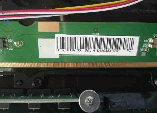 飞线维修熊猫LE32D51A液晶电视灰屏故障维修一例4