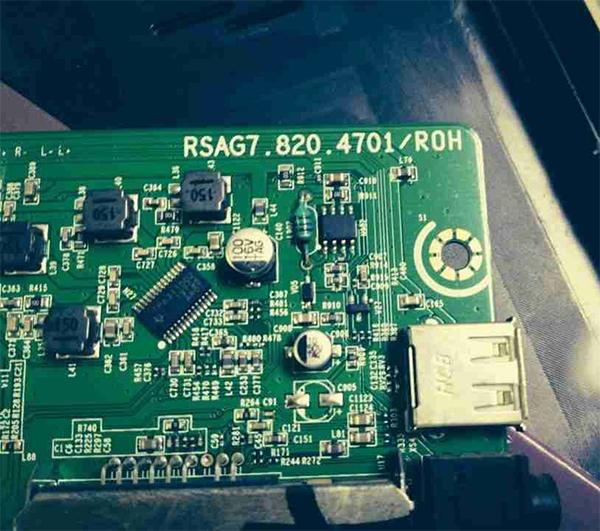 海信LED32K11液晶电视指示灯不亮不开机故障维修3