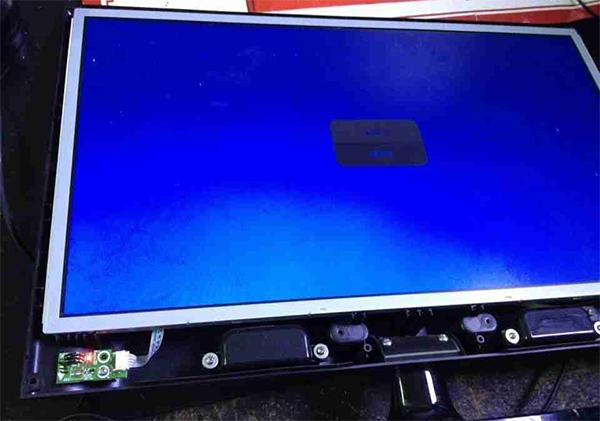 海信LED32K11液晶电视指示灯不亮不开机故障维修2